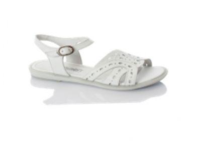сандалии Minimen для девочки белые новосибирск