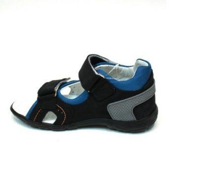 сандалии Minimen мальчик черный удобные котофей греческие