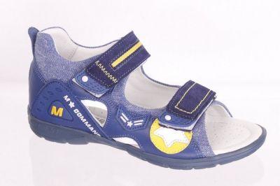 минимен сандалии синий удобные носить летом ортопедические
