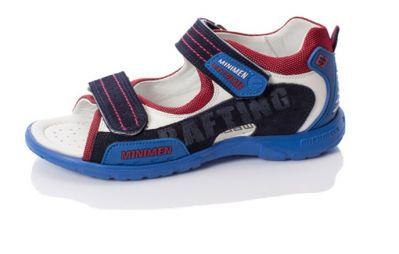 сандалии Minimen новосибирск цвет синий черный красный