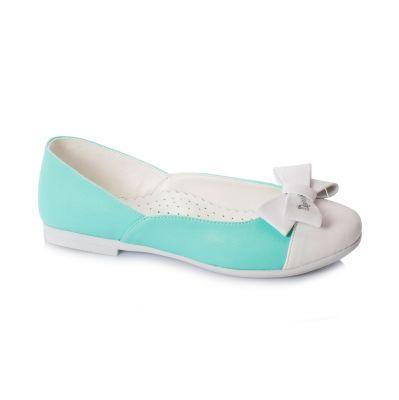 туфли белые бирюзовые Dandino недорого на выпускной