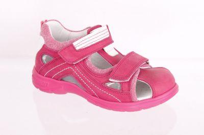 сандалии minimen для девочки детские розовые